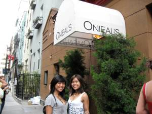 Outside Oniel\'s
